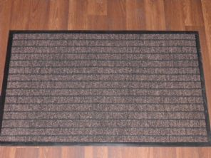 NON SLIP DOORMATS 50X80CM RUBBER BACKING GOOD QUALITY ALL COLOURS BROWNS BARGAIN